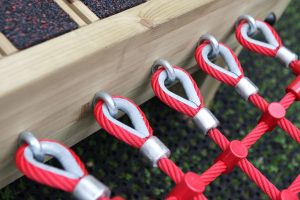 Rope walk fasteners