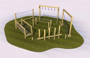 Bigbury trail outdoor play equipment for schools