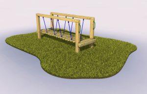 Clatter bridge play equipment for schools