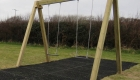 Double Flat Swing built from sustainably grown timber