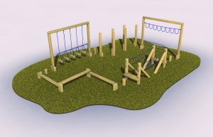 Harberton trail outdoor play equipment
