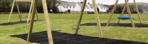 Timber slides, swings and safty surfacing