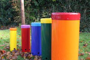 Beautiful Rainbow Sambas ready for play