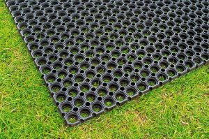 Rubber matting for play areas