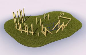 Sandford trail outdoor play equipment for schools