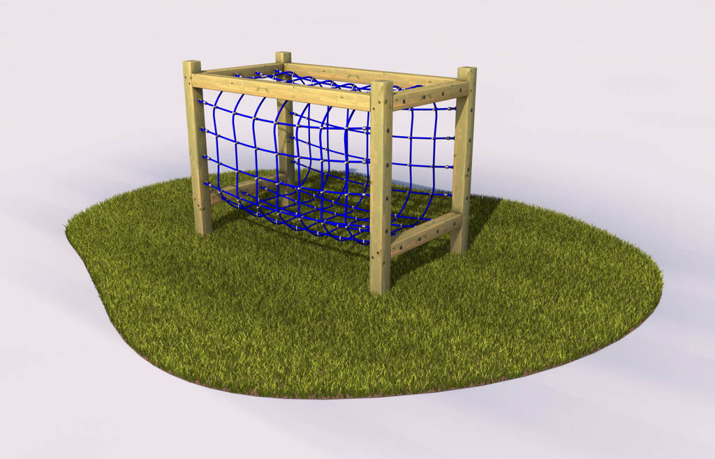 Tunnel net play equipment