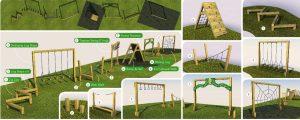 School play equipment designs
