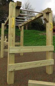 childrens wooden monkey ladder