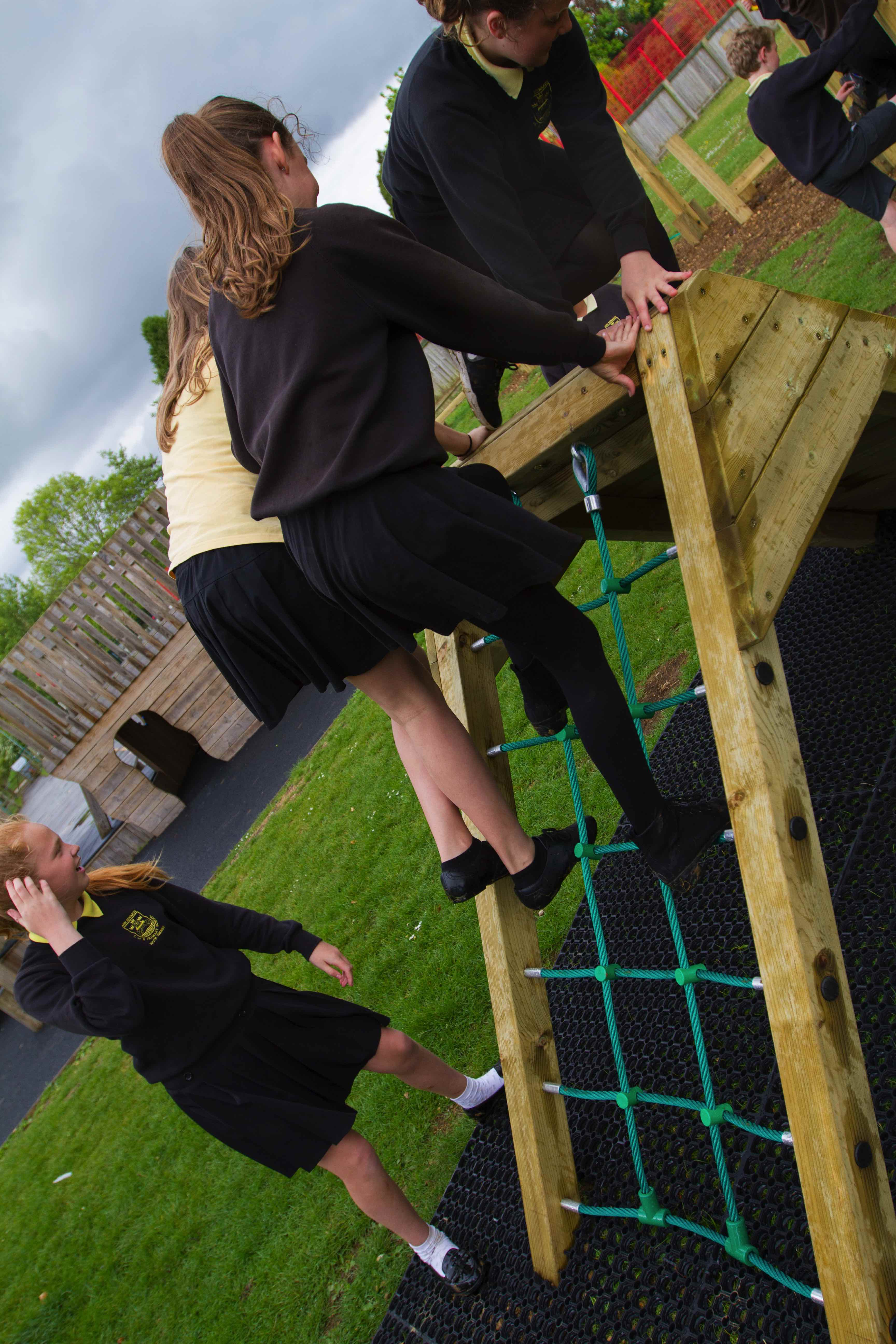 Great New Childrens Play Area Installation Outdoor Play Uk