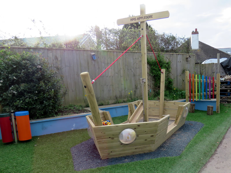 Wooden Play Houses And Play Ships For Kids Outdoor Play Uk