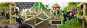 Custom wooden playgrounds for kids