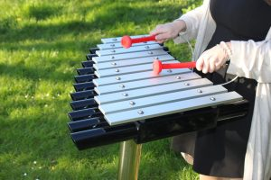 Cadenza Maya outdoor play instrument