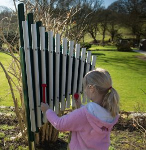 Chrub chimes sound great in the play zone