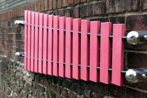 Wall Marimba musical instrument for childrens play