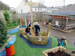 Imaginative play for children