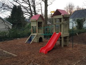 Play equipment installed over Christmas holiday goes down a treat