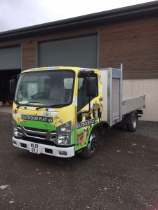 Outdoor play UK buys a new truck