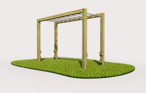 Monkey bars outdoor play