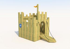 The block rock play castle