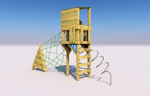The Holymead play tower for kids