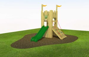 The Knowle castle play tower