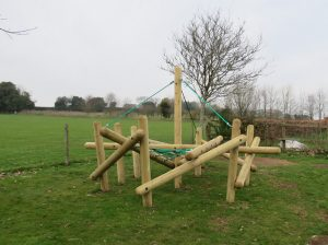 A low level pole climber for children