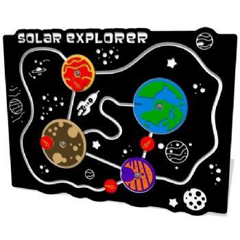 A solar exporer play panel