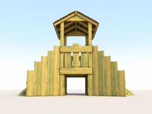 A wishing mine play tower for children