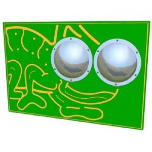 A bug eyed play panel