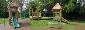 Wooden play tower banner image