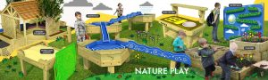 Nature play banner