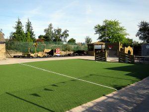 Sports grass for school playground