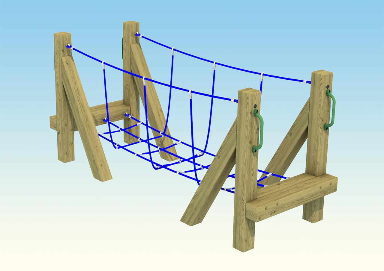 playground-rope-bridge