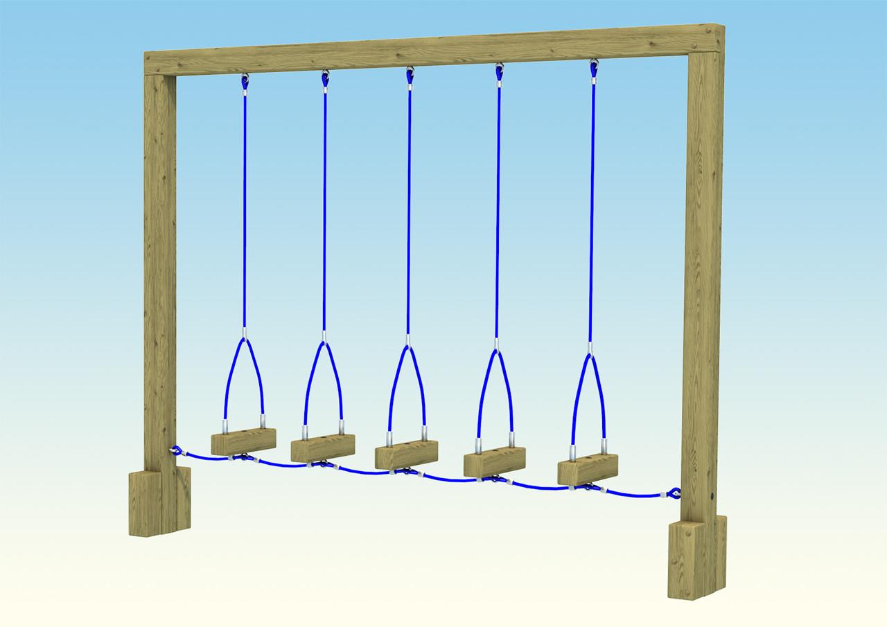 playground-swinging-logs