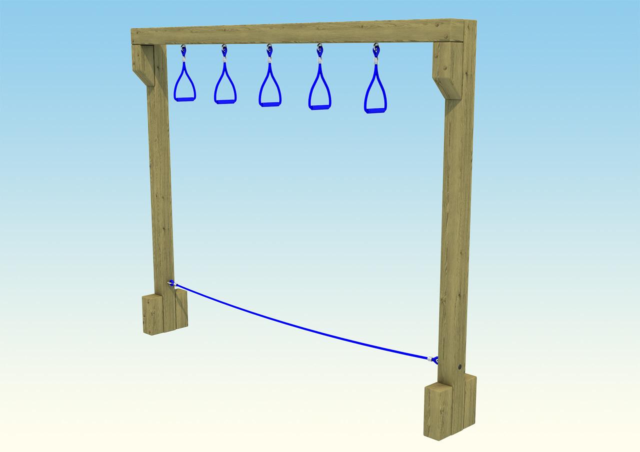 trapeze-swing